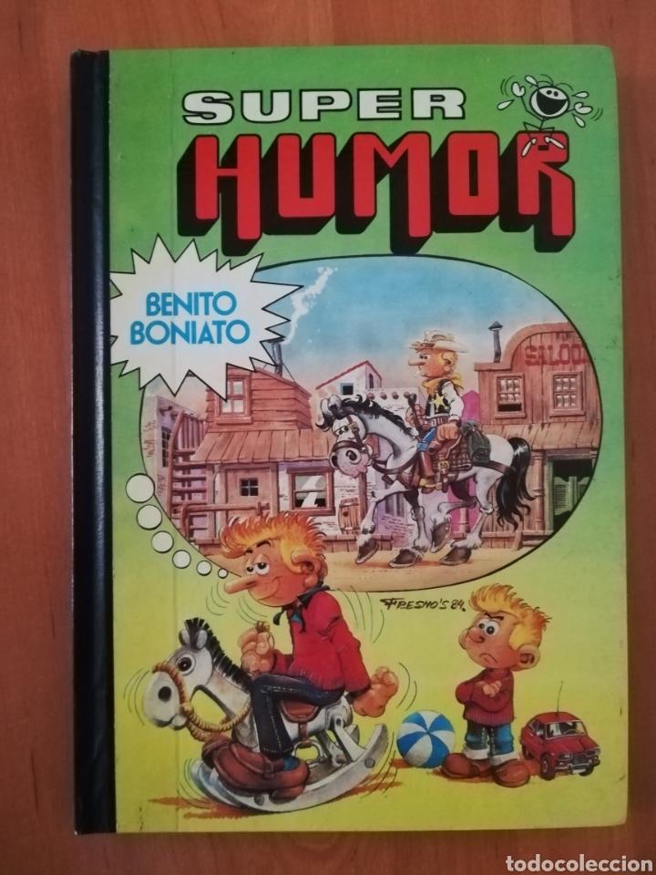 BENITO BONIATO SUPER HUMOR 1 (Tebeos y Comics - Bruguera - Super Humor)