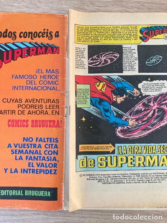 Tebeos: SUPERMAN Nº 7. BRUGUERA 1979 - Foto 2 - 288562743