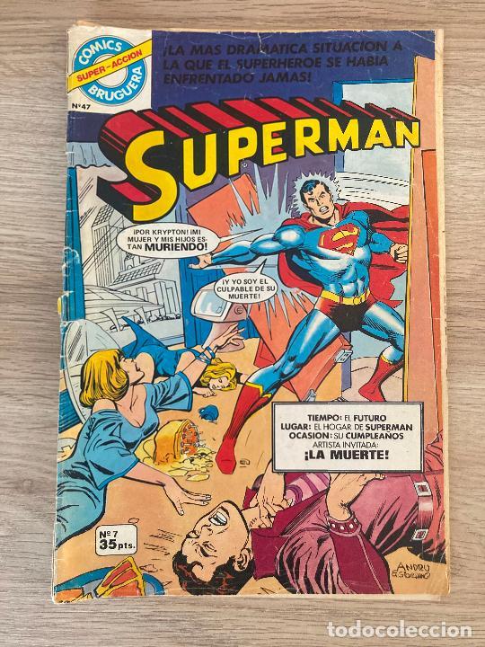 SUPERMAN Nº 7. BRUGUERA 1979 (Tebeos y Comics - Bruguera - Otros)