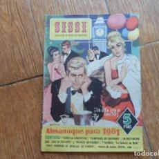 Tebeos: SISSI SELECCION DE NOVELAS GRAFICAS ALMANAQUE 1961 ORIGINAL BRUGUERA. Lote 288569378