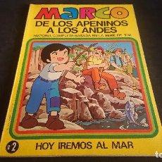 Tebeos: TEBEO MARCO DE LOS APENINOS A LOS ANDES Nº 2 1977 , EDITORIAL BRUGUERA , LEER DESCRIPCION. Lote 288580963