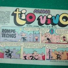 Tebeos: MINI TIO VIVO Nº 19. EDITORIAL BRUGUERA 1975.. Lote 288620878