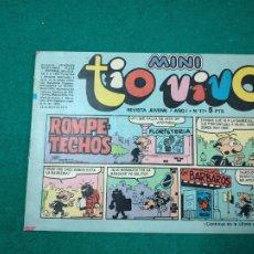 Tebeos: MINI TIO VIVO Nº 17. EDITORIAL BRUGUERA 1975.. Lote 288620993