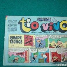 Tebeos: MINI TIO VIVO Nº 12. EDITORIAL BRUGUERA 1975.. Lote 288621123