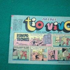 Tebeos: MINI TIO VIVO Nº 4. EDITORIAL BRUGUERA 1975.. Lote 288621283