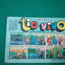 Tebeos: MINI TIO VIVO Nº 3. EDITORIAL BRUGUERA 1975.. Lote 288621508