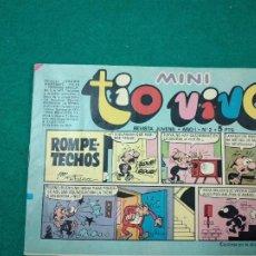 Tebeos: MINI TIO VIVO Nº 2. EDITORIAL BRUGUERA 1975.. Lote 288621598