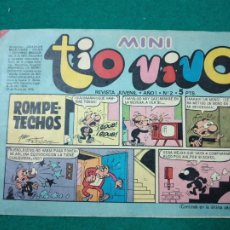 Tebeos: MINI TIO VIVO Nº 2. EDITORIAL BRUGUERA 1975.. Lote 288621693
