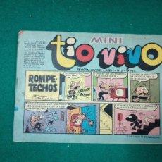 Tebeos: MINI TIO VIVO Nº 2. EDITORIAL BRUGUERA 1975.. Lote 288621773