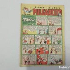 Tebeos: PULGARCITO - Nº 187 - ÁLBUM INFANTIL - BRUGUERA - ORIGINAL AÑOS 50. Lote 288629328