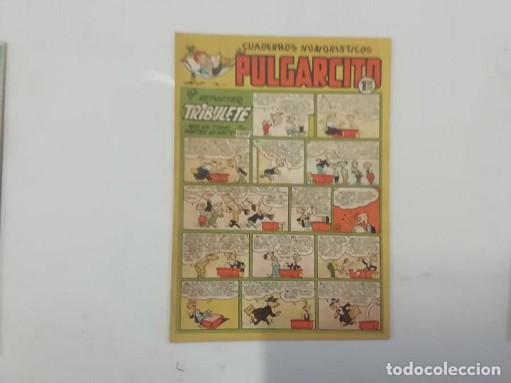 PULGARCITO - Nº 186 - CUADERNOS HUMORÍSTICOS - BRUGUERA - ORIGINAL AÑOS 50 (Tebeos y Comics - Bruguera - Pulgarcito)