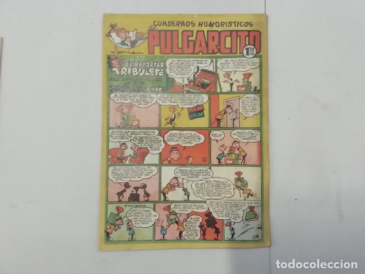 PULGARCITO - Nº 184 - CUADERNOS HUMORÍSTICOS - BRUGUERA - ORIGINAL AÑOS 50 (Tebeos y Comics - Bruguera - Pulgarcito)