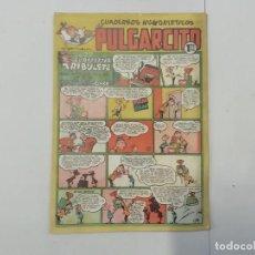 Tebeos: PULGARCITO - Nº 184 - CUADERNOS HUMORÍSTICOS - BRUGUERA - ORIGINAL AÑOS 50. Lote 288629563