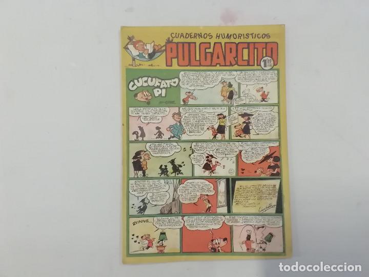 PULGARCITO - Nº 183 - CUADERNOS HUMORÍSTICOS - BRUGUERA - ORIGINAL AÑOS 50 (Tebeos y Comics - Bruguera - Pulgarcito)