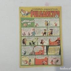 Tebeos: PULGARCITO - Nº 183 - CUADERNOS HUMORÍSTICOS - BRUGUERA - ORIGINAL AÑOS 50. Lote 288629658
