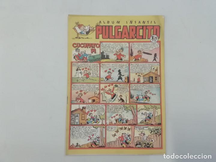 PULGARCITO - Nº 100 - ÁLBUM INFANTIL - BRUGUERA - ORIGINAL AÑOS 50 (Tebeos y Comics - Bruguera - Pulgarcito)