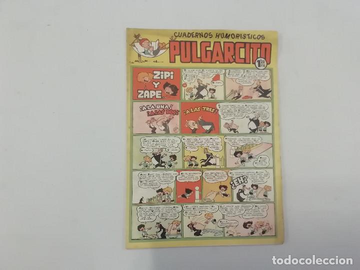 PULGARCITO - Nº 192 - CUADERNOS HUMORÍSTICOS - BRUGUERA - ORIGINAL AÑOS 50 (Tebeos y Comics - Bruguera - Pulgarcito)