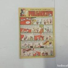 Tebeos: PULGARCITO - Nº 190 - BIBLIOTECA CÓMICA - BRUGUERA - ORIGINAL AÑOS 50. Lote 288630193