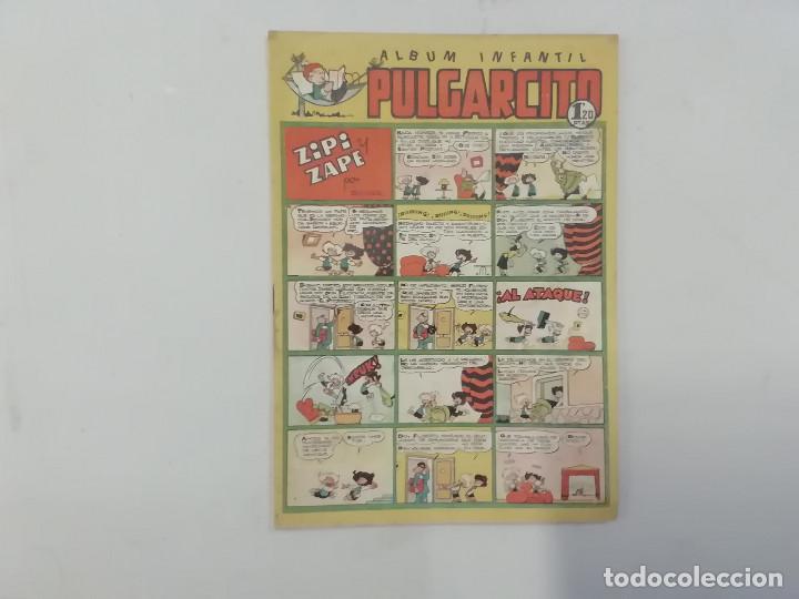 PULGARCITO - Nº 189 - ÁLBUM INFANTIL - BRUGUERA - ORIGINAL AÑOS 50 (Tebeos y Comics - Bruguera - Pulgarcito)
