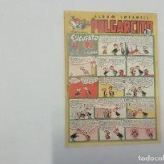 Tebeos: PULGARCITO - Nº 197 - ÁLBUM INFANTIL - BRUGUERA - ORIGINAL AÑOS 50. Lote 288630793