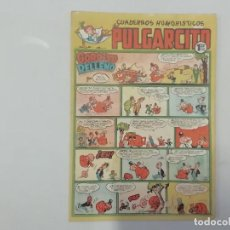 Tebeos: PULGARCITO - Nº 198 - CUADERNOS HUMORÍSTICOS - BRUGUERA - ORIGINAL AÑOS 50. Lote 288630938