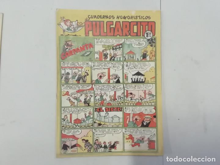 PULGARCITO - Nº 196 - CUADERNOS HUMORÍSTICOS - BRUGUERA - ORIGINAL AÑOS 50 (Tebeos y Comics - Bruguera - Pulgarcito)