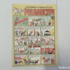 Tebeos: PULGARCITO - Nº 196 - CUADERNOS HUMORÍSTICOS - BRUGUERA - ORIGINAL AÑOS 50. Lote 288631038