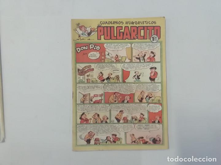 PULGARCITO - Nº 194 - CUADERNOS HUMORÍSTICOS - BRUGUERA - ORIGINAL AÑOS 50 (Tebeos y Comics - Bruguera - Pulgarcito)