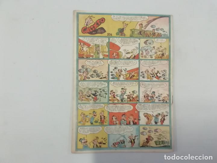 Tebeos: PULGARCITO - Nº 204 - CUADERNOS HUMORÍSTICOS - BRUGUERA - ORIGINAL AÑOS 50 - Foto 2 - 288631408