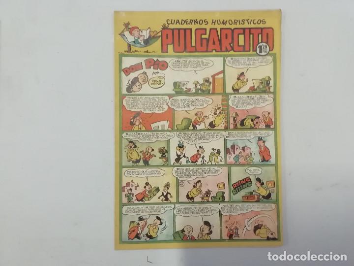 PULGARCITO - Nº 203 - CUADERNOS HUMORÍSTICOS - BRUGUERA - ORIGINAL AÑOS 50 (Tebeos y Comics - Bruguera - Pulgarcito)