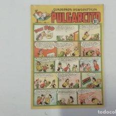 Tebeos: PULGARCITO - Nº 203 - CUADERNOS HUMORÍSTICOS - BRUGUERA - ORIGINAL AÑOS 50. Lote 288631513