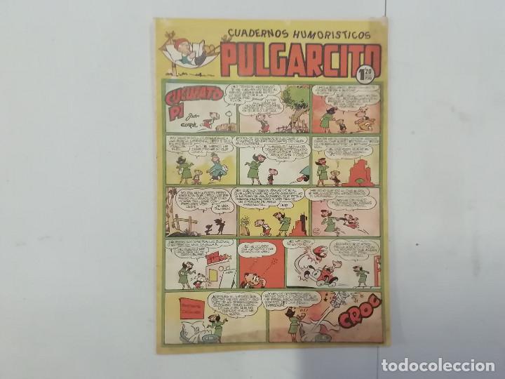 PULGARCITO - Nº 202 - CUADERNOS HUMORÍSTICOS - BRUGUERA - ORIGINAL AÑOS 50 (Tebeos y Comics - Bruguera - Pulgarcito)