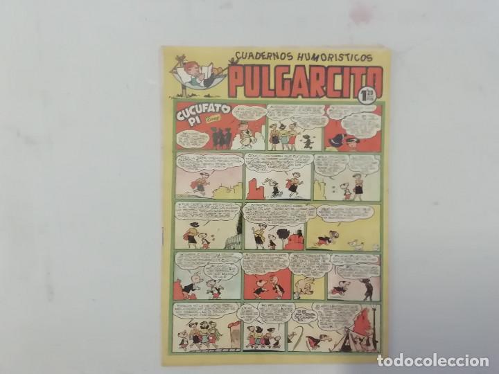 PULGARCITO - Nº 201 - CUADERNOS HUMORÍSTICOS - BRUGUERA - ORIGINAL AÑOS 50 (Tebeos y Comics - Bruguera - Pulgarcito)