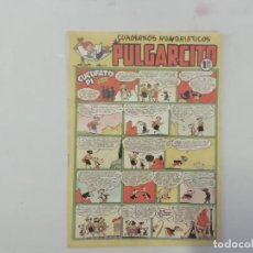 Tebeos: PULGARCITO - Nº 201 - CUADERNOS HUMORÍSTICOS - BRUGUERA - ORIGINAL AÑOS 50. Lote 288631698