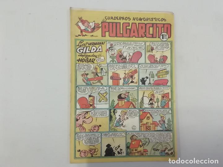 PULGARCITO - Nº 128 - CUADERNOS HUMORÍSTICOS - BRUGUERA - ORIGINAL AÑOS 50 (Tebeos y Comics - Bruguera - Pulgarcito)