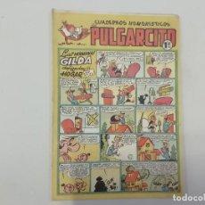 Tebeos: PULGARCITO - Nº 128 - CUADERNOS HUMORÍSTICOS - BRUGUERA - ORIGINAL AÑOS 50. Lote 288632538