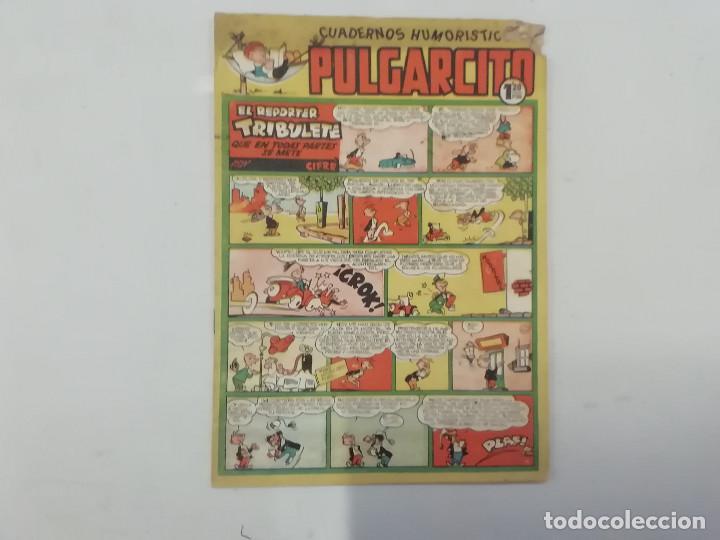 PULGARCITO - Nº 218 - CUADERNOS HUMORÍSTICOS - BRUGUERA - ORIGINAL AÑOS 50 (Tebeos y Comics - Bruguera - Pulgarcito)