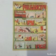 Tebeos: PULGARCITO - Nº 218 - CUADERNOS HUMORÍSTICOS - BRUGUERA - ORIGINAL AÑOS 50. Lote 288633233