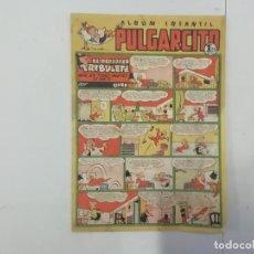 Tebeos: PULGARCITO - Nº 217 - ÁLBUM INFANTIL - BRUGUERA - ORIGINAL AÑOS 50. Lote 288633333