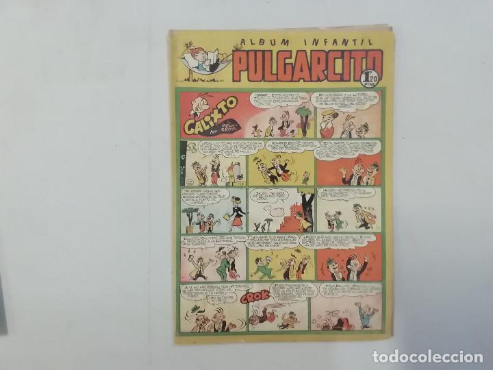 PULGARCITO - Nº 212 - ÁLBUM INFANTIL - BRUGUERA - ORIGINAL AÑOS 50 (Tebeos y Comics - Bruguera - Pulgarcito)