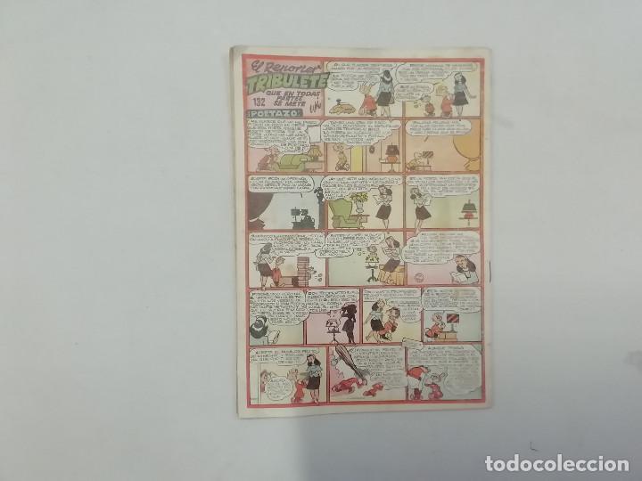 Tebeos: PULGARCITO - Nº 132 - CUADERNOS HUMORÍSTICOS - BRUGUERA - ORIGINAL AÑOS 50 - Foto 2 - 288633703