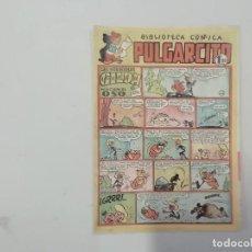Tebeos: PULGARCITO - Nº 130 - BIBLIOTECA CÓMICA - BRUGUERA - ORIGINAL AÑOS 50. Lote 288633793