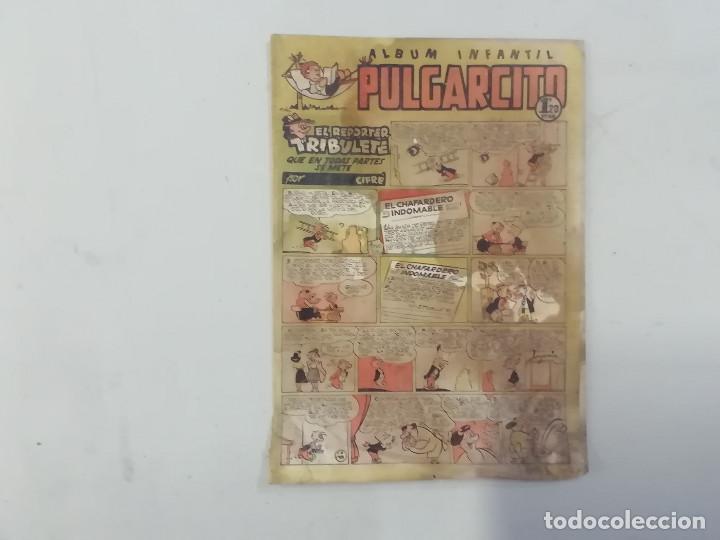 PULGARCITO - Nº 193 - ÁLBUM INFANTIL - BRUGUERA - ORIGINAL AÑOS 50 (Tebeos y Comics - Bruguera - Pulgarcito)