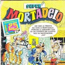 Livros de Banda Desenhada: SUPER MORTADELO Nº 165 REVISTA JUVENIL - 1983 BRUGUERA 25-ANIVERSARIO Y UNO SIN TAPAS REGALO.. Lote 288692338