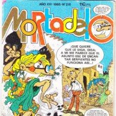 Livros de Banda Desenhada: SUPER MORTADELO. AÑO XVI. Nº 216. BRUGUERA 1985. Lote 288697458