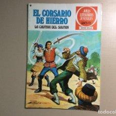 Tebeos: EL CORSARIO DE HIERRO SERIE ROJA NUMERO 17. Lote 288700868