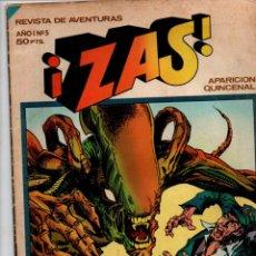 Tebeos: REVISTA DE AVENTURAS: ZAS Nº 5, AÑO I. HISTORIA DE ALIEN, EL 8º PASAJERO. BRUGUERA 1979. Lote 288718873