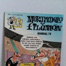 Tebeos: MORTADELO Y FILEMON Nº61 MUNDIAL 78. Lote 288744483