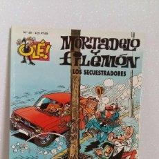 Tebeos: MORTADELO Y FILEMON Nº59 LOS SECUESTRADORES. Lote 288744508