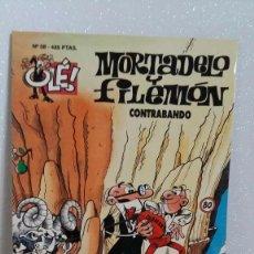 Tebeos: MORTADELO Y FILEMON Nº58 CONTRABANDO. Lote 288744518